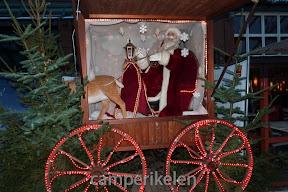 Kerstman op de Kerstmarkt CentrO