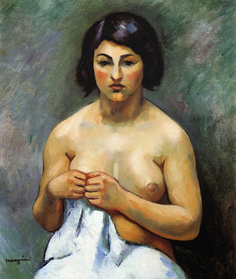 Henri-Charles Manguin - Woman's Torso, Little Marie, 1912