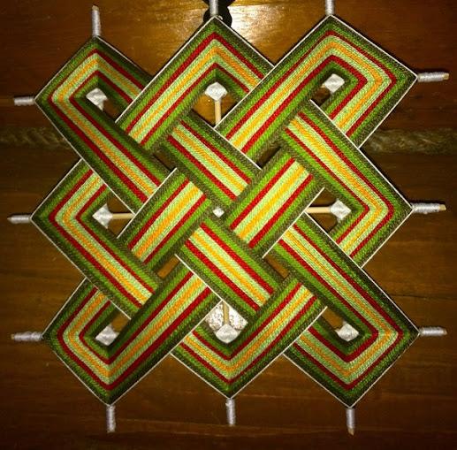 Плетение мандалы картинка