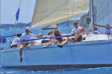 J/35s sailing in Level 35 Class- Bayview Mackinac Racer