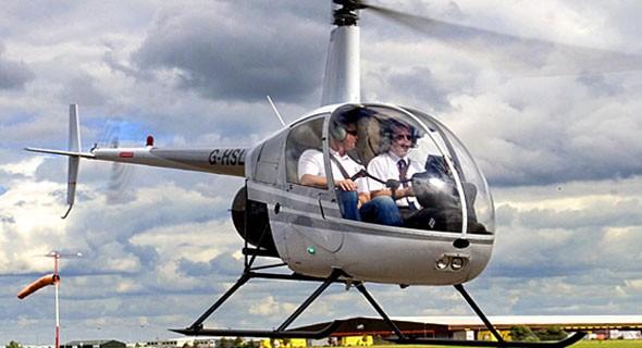 flyv helikopter