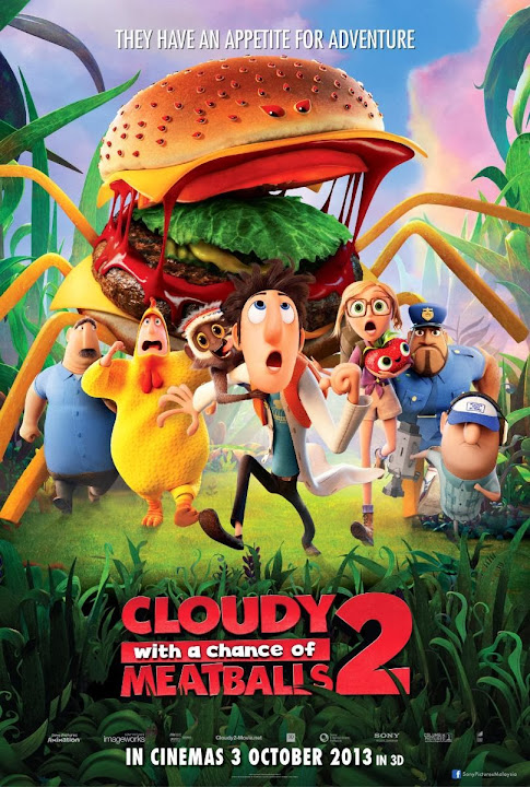 Cloudy with a Chance of Meatballs 2 (2013) Español