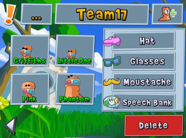 Team17 xác nhận sẽ có Worms 3 cho thiết bị iOS 7