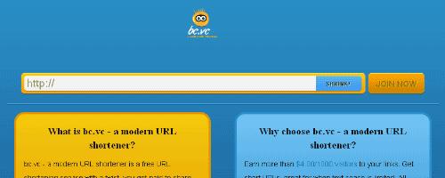 Free URL Shortener Service – BCVC