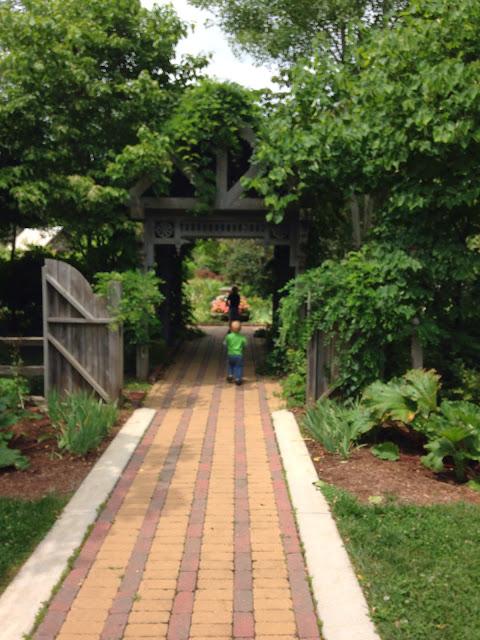 Inside Outside Michiana: Defries Gardens