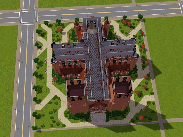 собор,sims 3,katedrāle,cathedral,gotica,gothic