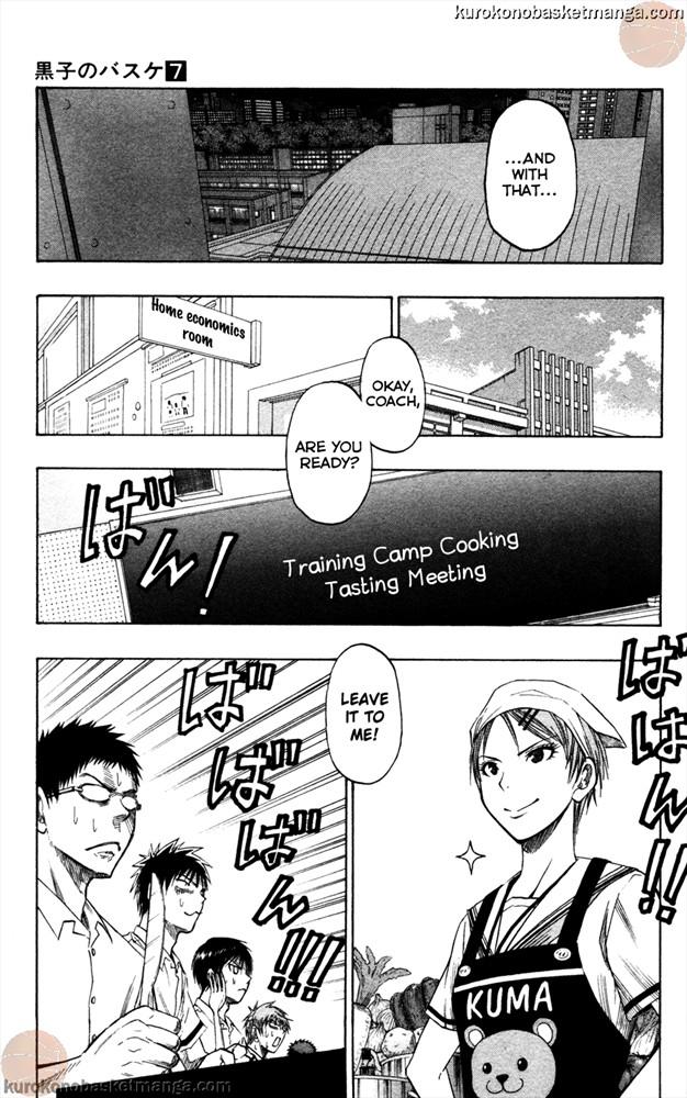 Kuroko no Basket Manga Chapter 58 - Image 600/9