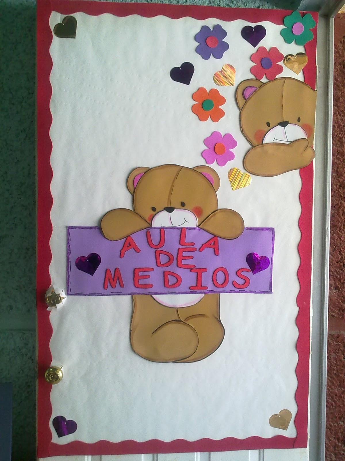 Mis actividades preescolar decorados puertas for Puertas 3 de febrero