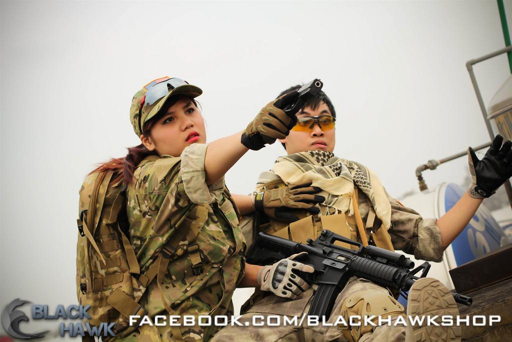 Bộ ảnh cosplay kiểu quân đội tuyệt đẹp của coser Việt - Ảnh 6