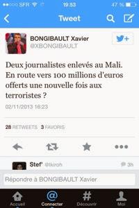 Et sinon? On peut insulter Xavier Bongibault ou pas?