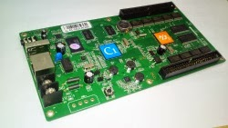 full color LED control card, κάρτα γραφικών γιά RGB modules