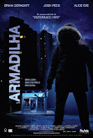 Resenha e cartaz do filme Armadilha (ATM), de David Brooks