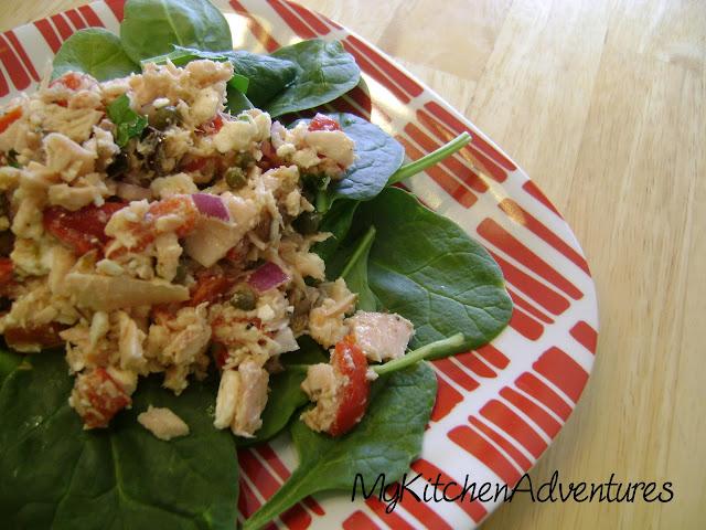 Mediterranean Style Tuna Salad