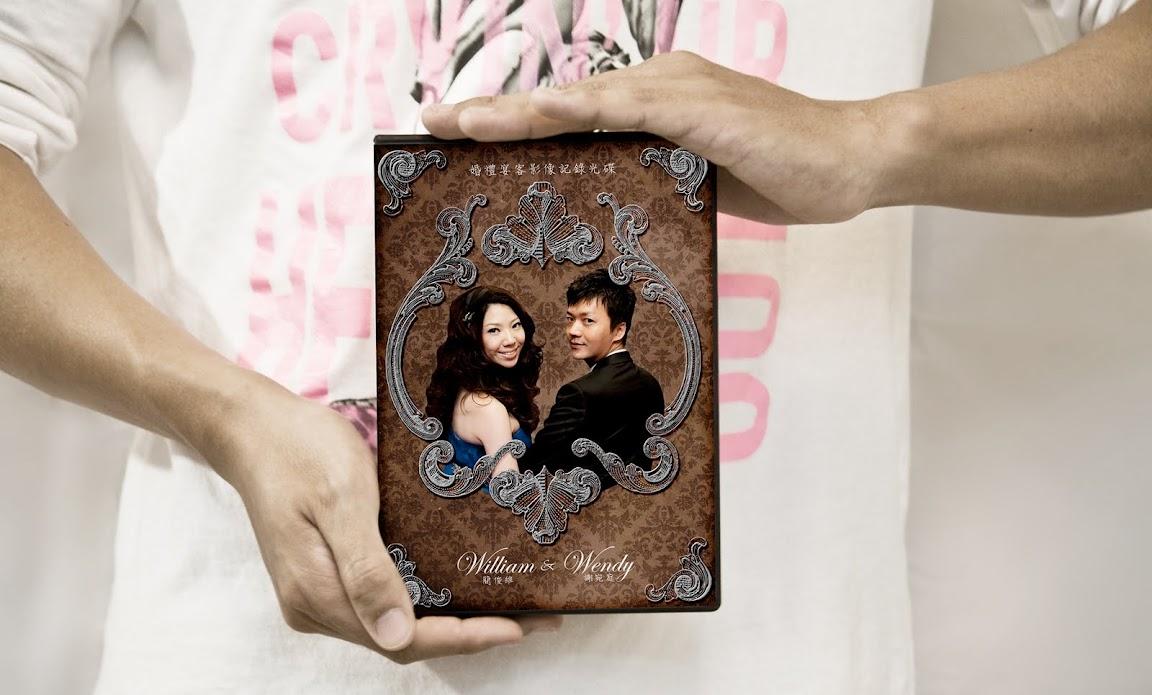 Showcase作品展示 | 俊維X宛庭婚攝DVD封面設計 by MUMULab.com