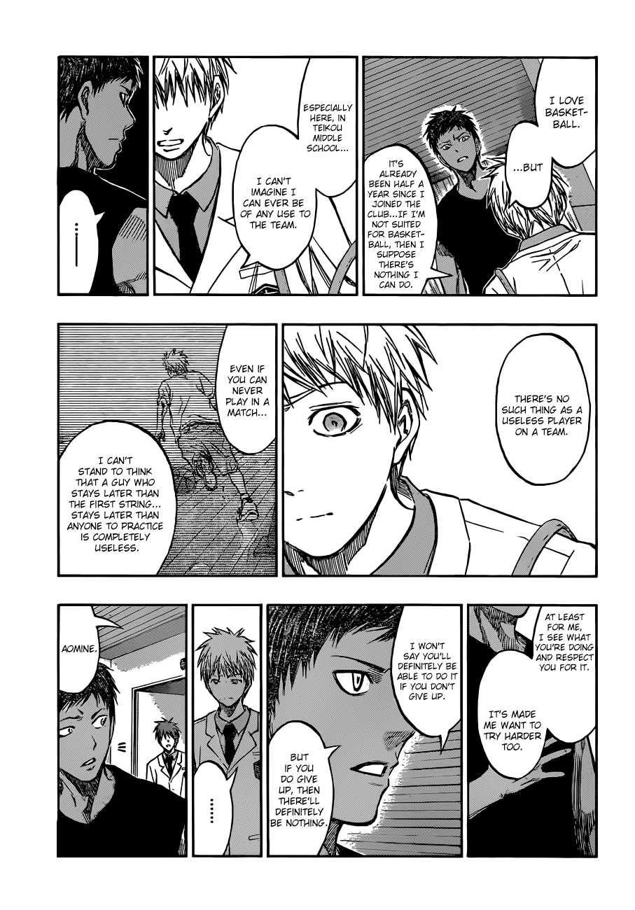 Kuroko no Basket Manga Chapter 205 - Image 17