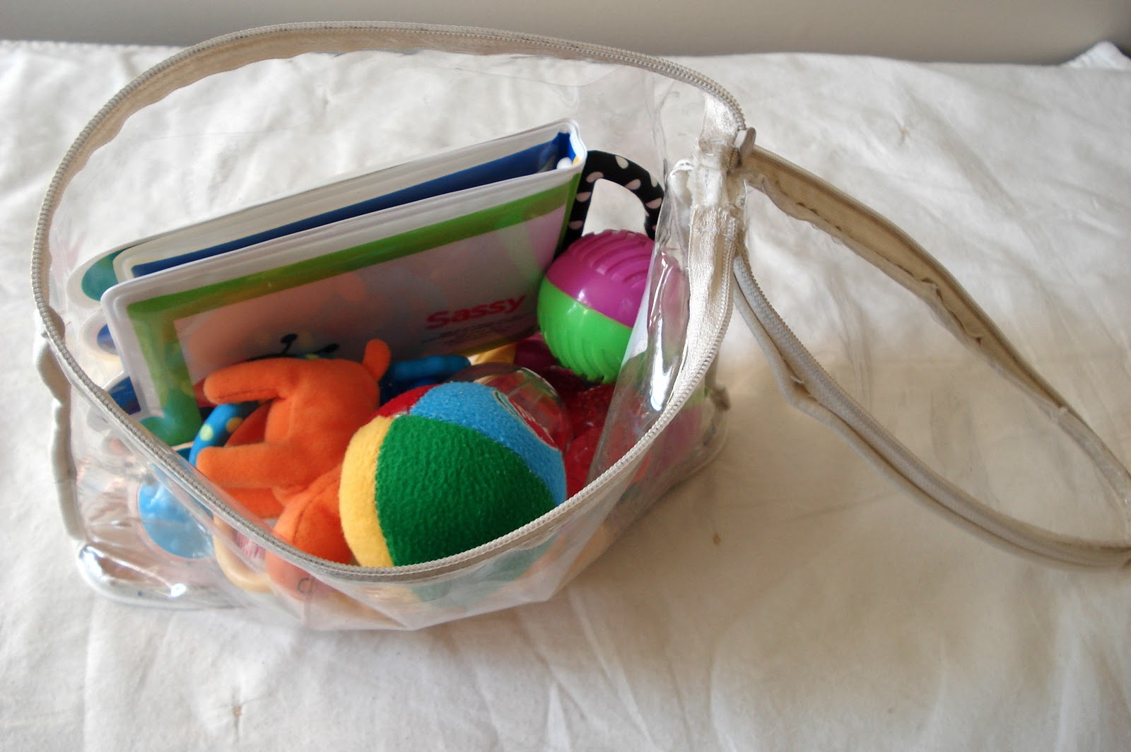 Gentil Now The Baby Toys Are Easy To Contain, Easy To See Because Of The Clear  Plastic, And All In The Same Place!
