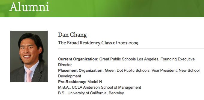 Privatization pusher Dan Chang is a Broadyte