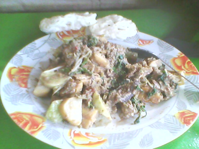 rujak cingur is very famous food in east java it s very special food i