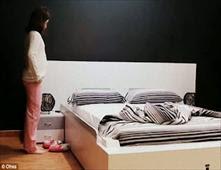 سرير يرتب نفسه تلقائيا