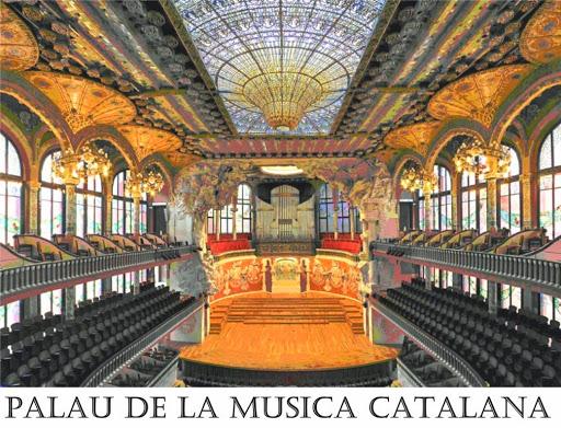 Palau de la Musica Catanala. From Six Secrets of Barcelona