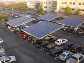 Primer Estacionamiento Solar En El DF