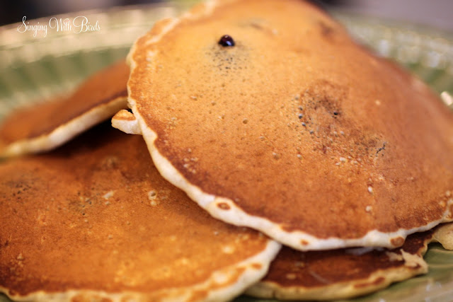 Best Buttermilk Blueberry Pancakes