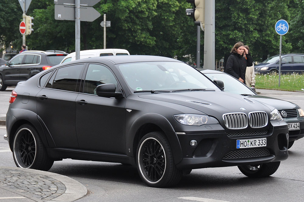 Bmw Automobiles Bmw X6 Black