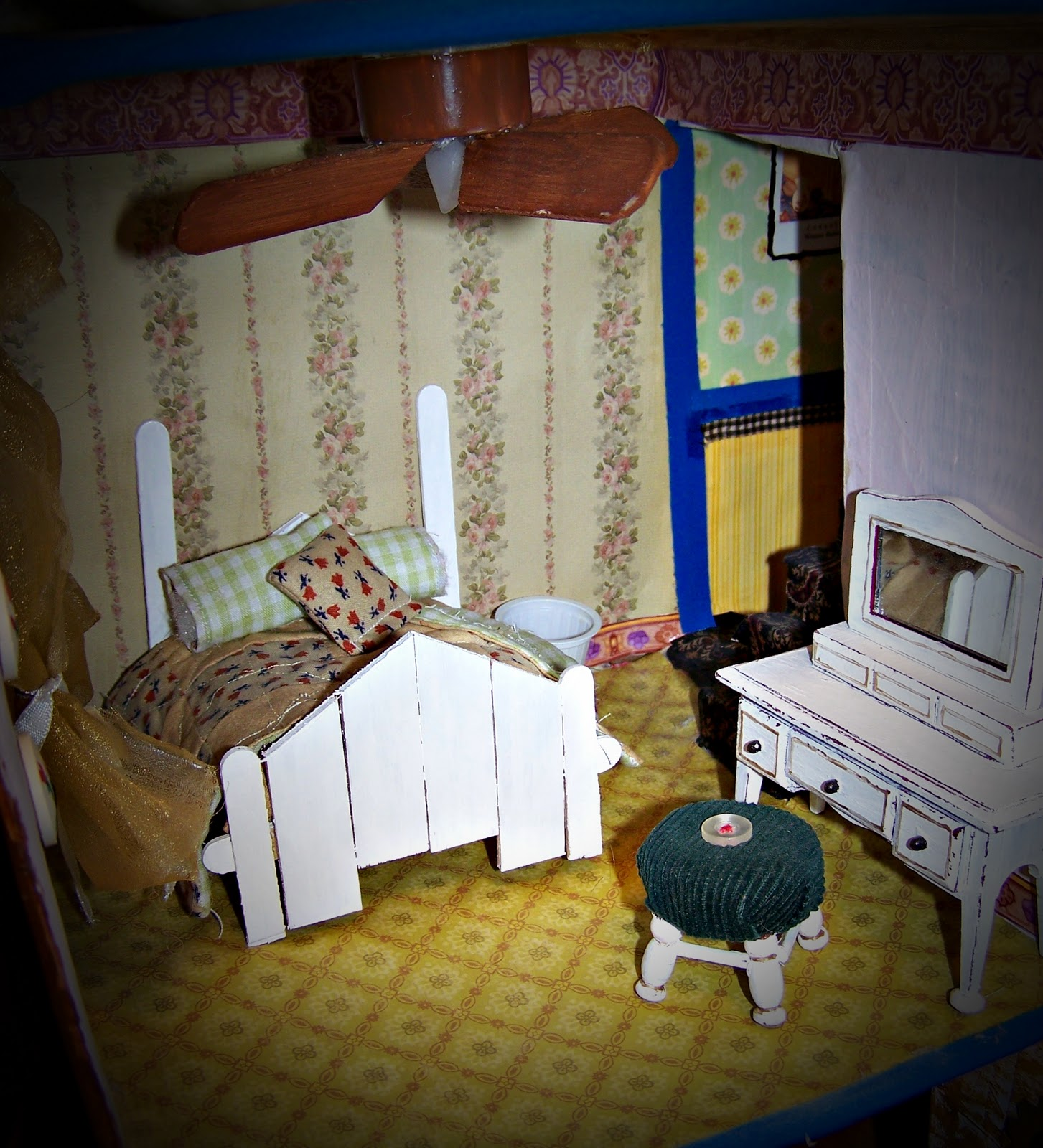 The Cardboard Crafter The Art Of Eclectic Doll House