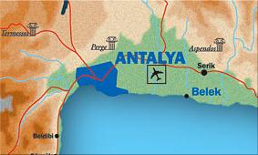 Antalya – Costa Mediterránea