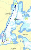 Cruisingklassens første sejlads (fortsættes fra Ægholm)