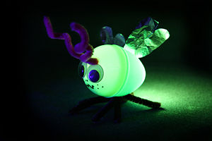 Candle How To Make Illuminated Fireflies From Plastic Easter Eggs Image