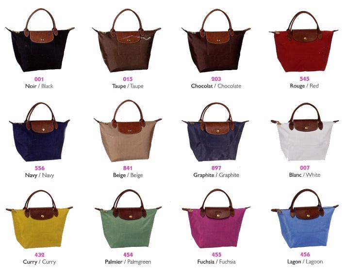 Longchamps Tasche Schwarz