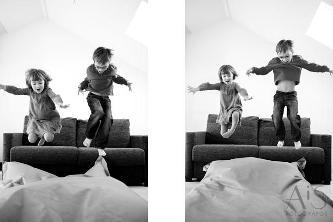 Retratos de familia, niños que arrancan una sonrisa