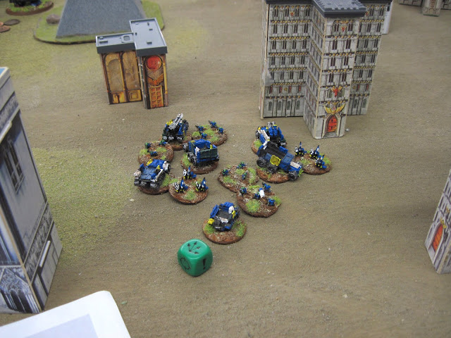 Death Skulls perform a tactical retreat.