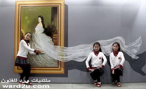 لوحات ثلاثية الابعاد من الصين 3d Art