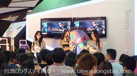 台湾人のキャンギャルのトークイベント