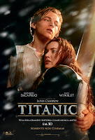 Resenha e cartaz do filme Titanic 3D, de James Cameron