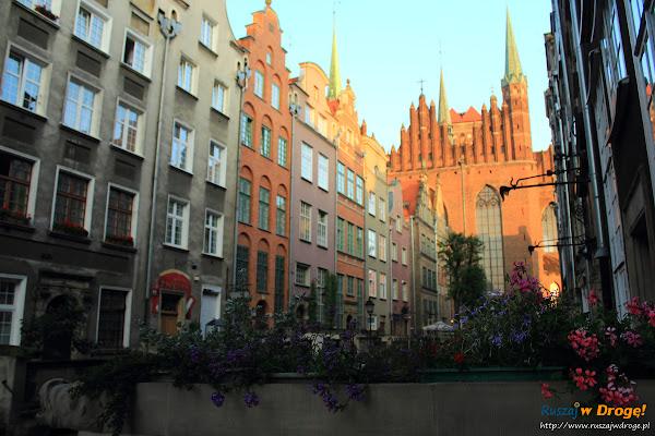 Gdańsk - poranek na ulicy Mariackiej