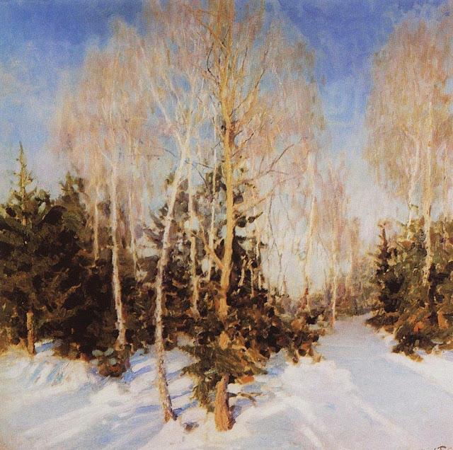 Igor Grabar - Winter Landscape