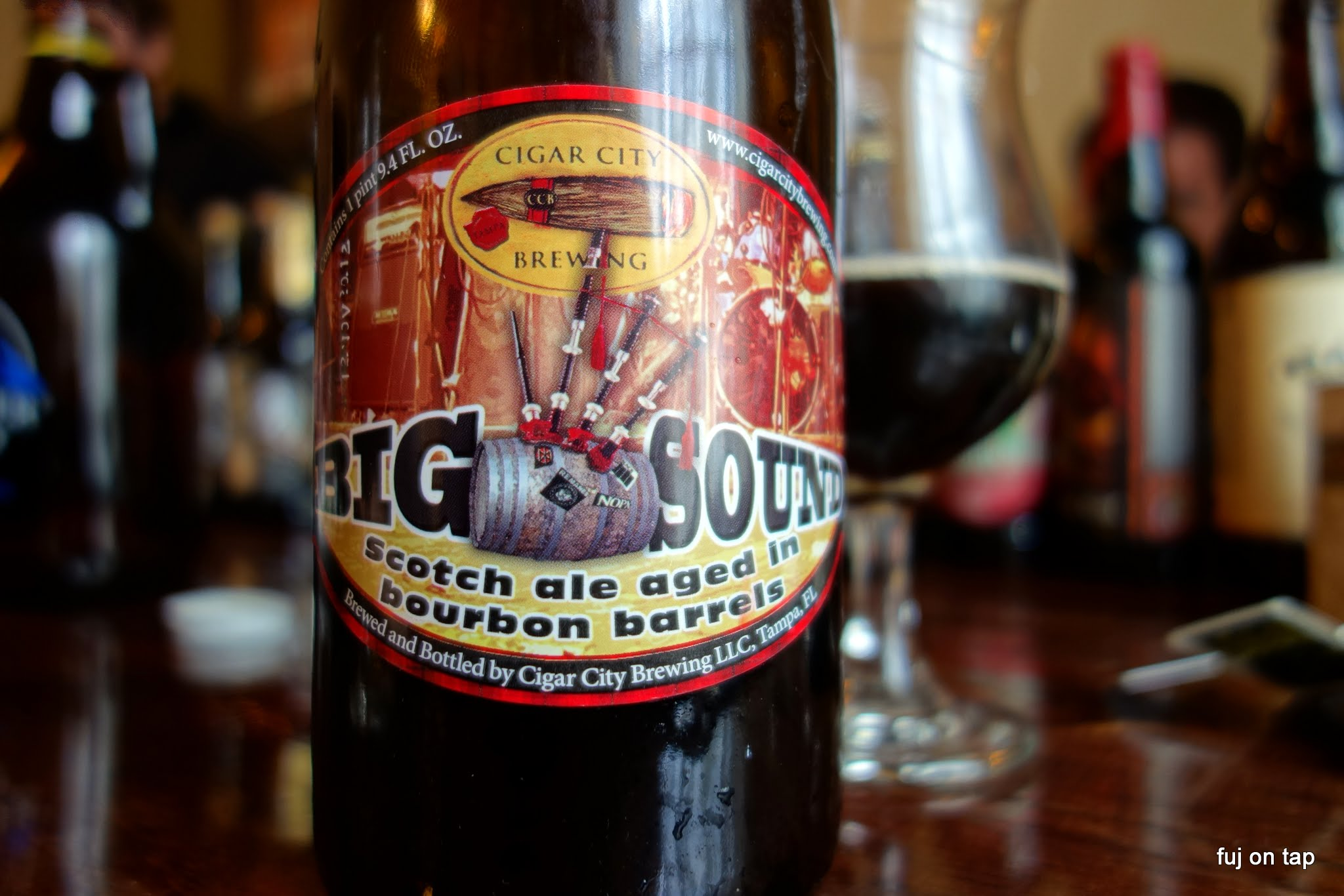Cigar City Bourbon Big Sound