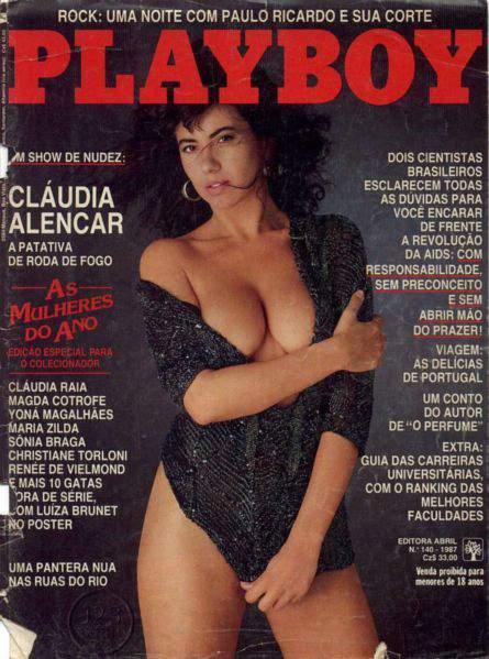 Cláudia Alencar - Playboy 1987