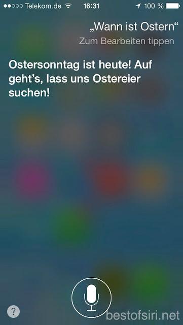 Lass Uns Ostereier Suche Best Of Siri Deutsch Lustige Fragen