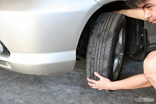 Thay đổi vị trí lốp xe