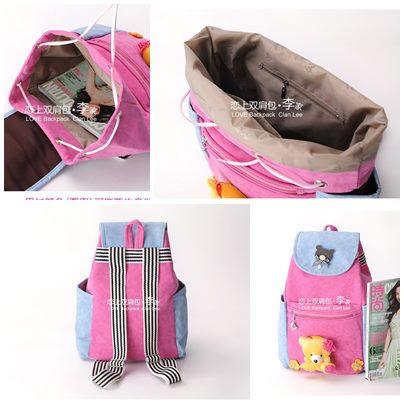 Tas Import Korea Murah Kbag 62C Pink - Baju Korea Murah, Jaket Korea