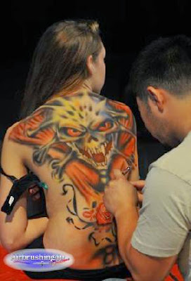 Body Art Airbrush Artist  Best Eye Catching Tattoos