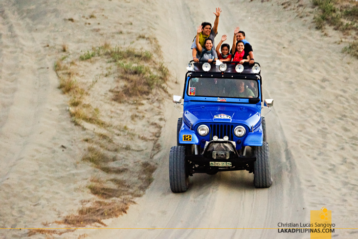 4x4 Jeep Rides at the Paoay Sand Dunes