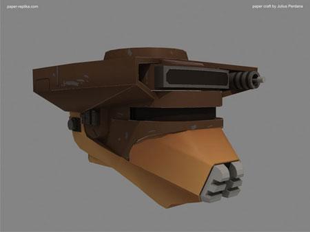 Star Wars Boushh Helmet Papercraft
