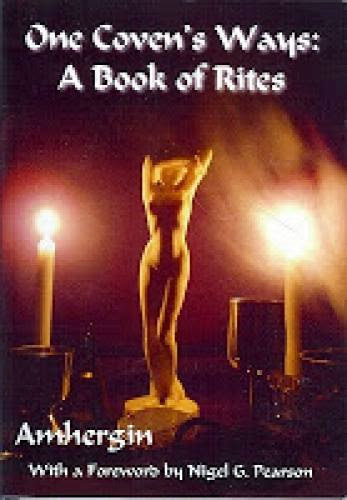 One Coven Ways A Book Of Rites