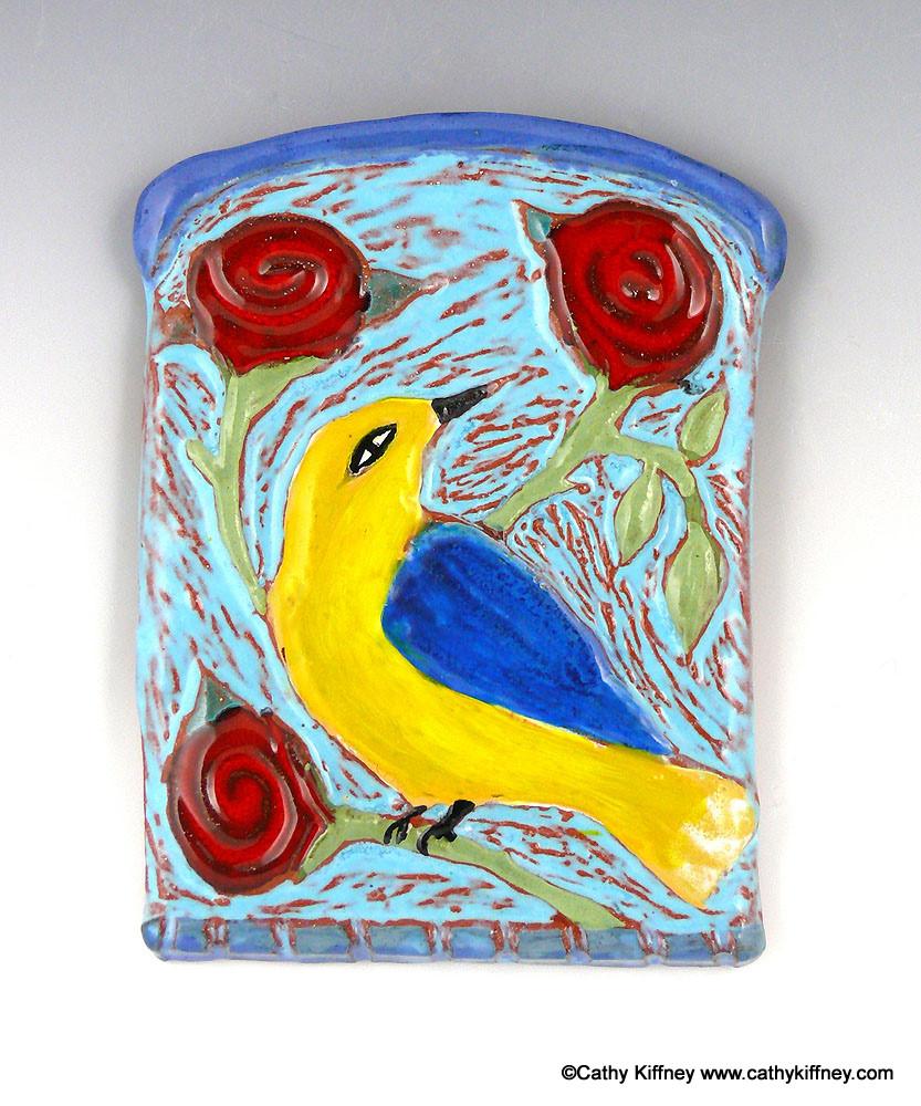 An Imagined Eden Small Bird Tiles