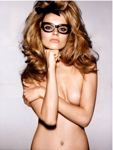 tom ford glasses. Hair: Proposing: